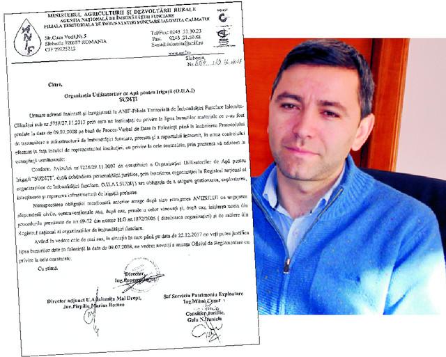 Ionuț Popescu amenință OUAI Sudiți cu DESFIINȚAREA